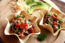 Azteco Brand Kettle Cooked in Olive Oil Tostada - Healthiest Tex-Mex in the World & Certified Gluten