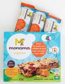 Tri Pack Cereal Bar Gluten Free Brazil  Nut s, Apple, Raisins