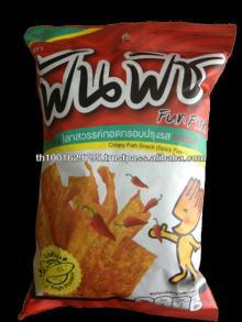 Fun-Fish Crispy Fish Snack (Spicy Flavour)