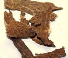 Camel meat jerky