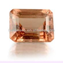 champagne European brilliant octagon shape spinel Cubic Zirconia cz stone synthetic rough Gemstone B
