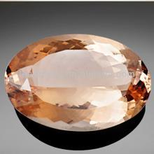 champagne European brilliant Oval cut Cubic Zirconia cz stone synthetic rough Gemstone Beads LeadMen