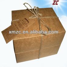 Hot Sales  Brown   Kraft   Paper  Box for Tea  Bag s Packaging