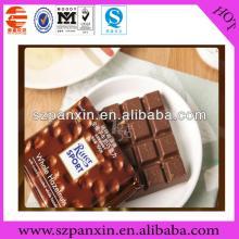 Healthy Food chocolate bar  plastic   zipper   bag