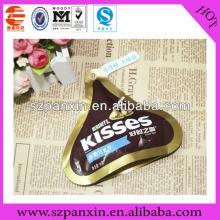 Healthy Food chocolate bar packing plastic bag
