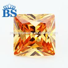 Elegant Champagne Synthetic Cubic  Zirconia  CZ Gems With Factory Offer