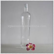 750ML HIGH FLINT VODKA GLASS BOTTLE