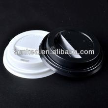 Sunkea high-quality  hot  cup lids,  plastic  lids for coffee cups, sip thru lids.