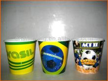 Hot  sell round  plastic  popcorn cup