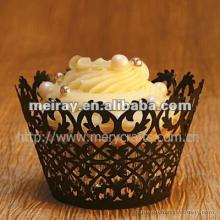 Hot sale! laser cut paper  filigree   cupcake   wrapper s from Mery Crafts