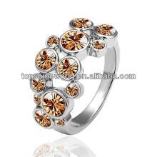 charm champagne diamond ring
