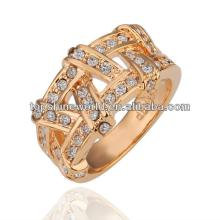 champagne gold wedding ring
