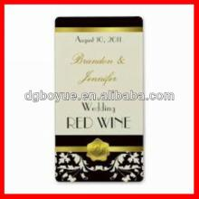 Printing Custom Champagne Labels with High Quality