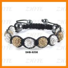 Nylon string for white and champagne bracelets SHB-9208