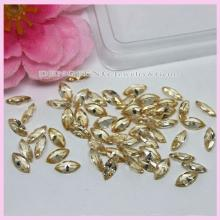 high quality marquise light champagne cubic zirconia stones