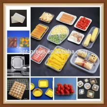 New Dessert Plastic Tray Disposable Chocolate Plastic Tray