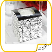 High quality 30pcs hot sales wedding  cupcake   boxes  gift box with PVC window font