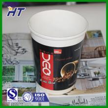 logo printed disposable paper coffee cups/double wall paper cup