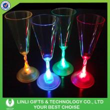 Lighted Flashing LED  Champagne  Flute