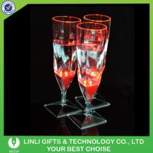 Plastic LED Champagne Flute For Party