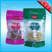 resealable stand up zipper tea bags