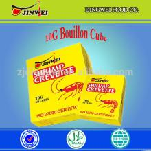10G*60PCS*24BOXES/CTN HALAL SEAFOOD SHRIMP CUBE