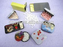 2014 new products of promotional mint candy in tins