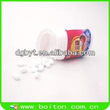 Plastic bottle with toy candy