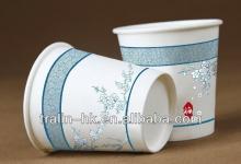 8 OZ HEAVY CERAMIC WHITE PAPER TO GO COFFEE TEA  MUG   CUP