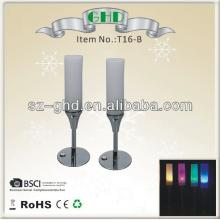 Fashion champagne flute led bar light for party decorative