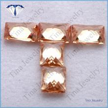 synthetic champagne cubic zirconia wholesale