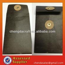 free shipping 2014 chengda craft string and button tea bag envelope
