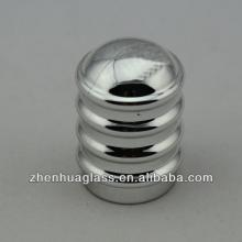 new design snappy glass parfume bottle cap