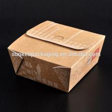 Wholesale High quality fast deli food containers of food grade paper board
