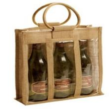 Jute Bag for Champagne, Economical and Environmental Friendly Bags  Make  in China