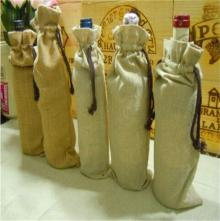 Eco-friendly Jute Bag for Champagne, Economical and Environmental Friendly Bags Make in China