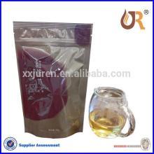 Custom printed tea bag/zipper tea bag/tea bag printing