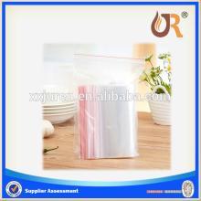 soft clear transparent LDPE BOPP PVC  plastic   zipper   bag