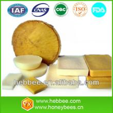 100% natural yellow and white beeswax