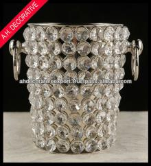 Wine champagne bucket, Crystal wine chiller champagne bucket