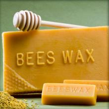 High Quality  Yellow   Refined   Bee s  wax  for export