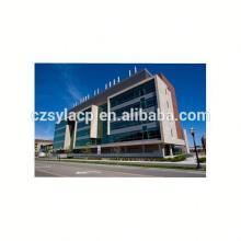 Wecan Exterior and Interior wood grain aluminum composite wall panel