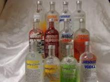 Absolut..... vodka..... 750ml