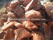 Himalayan Red Salt, Edible Dark Pink Salt, Natural Rock Sat