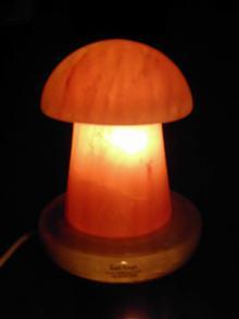 Mushroom  Salt Lamp