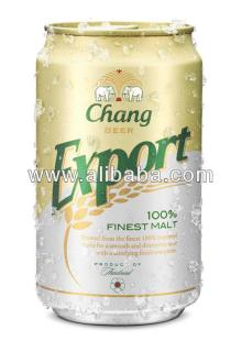 Beer Chang Export Popular Beer No.1 of Thailand