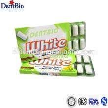 1.08g blister packaged xylitol sugar free chewing gum