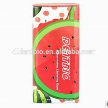 0.6g watermelon coating xylitol pastilles candy packaged in tin box