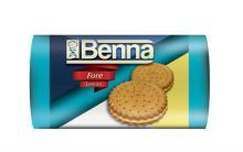 BENNA FORE SANDWICH BISCUIT WITH LEMON FLAVOURED CREAM