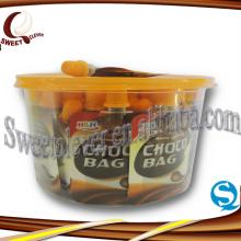 colorful packing pure chocolate jam bag